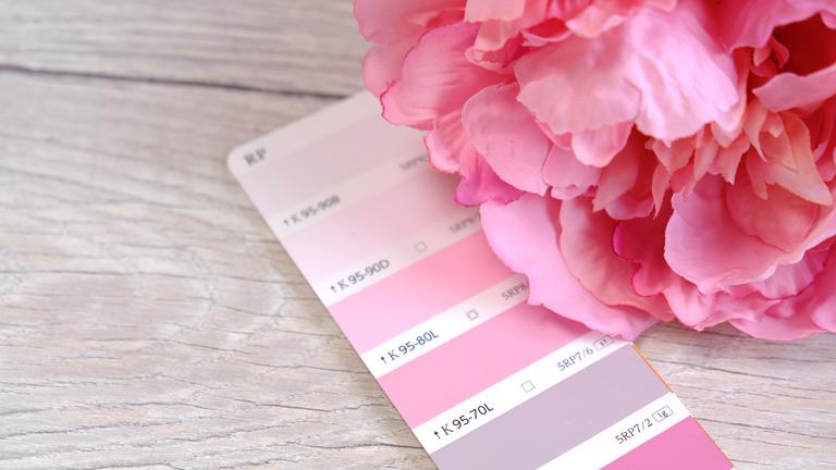グラデーションが美しいピンクのプレシャスピオニー