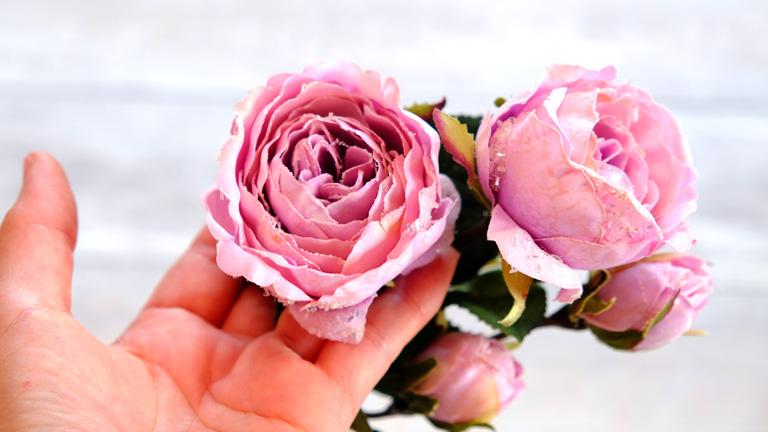 花びらが幾重にも重なり、とても綺麗。FX-8700
